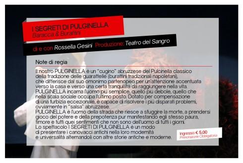 I Segreti di Pulginella (Retro)